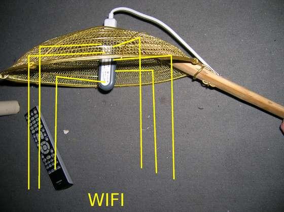 WokFi - Wifi Signal Strainer
