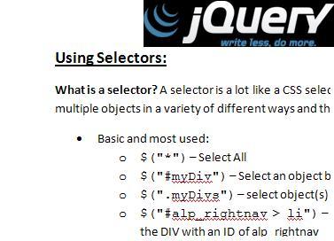 jquery-selectors
